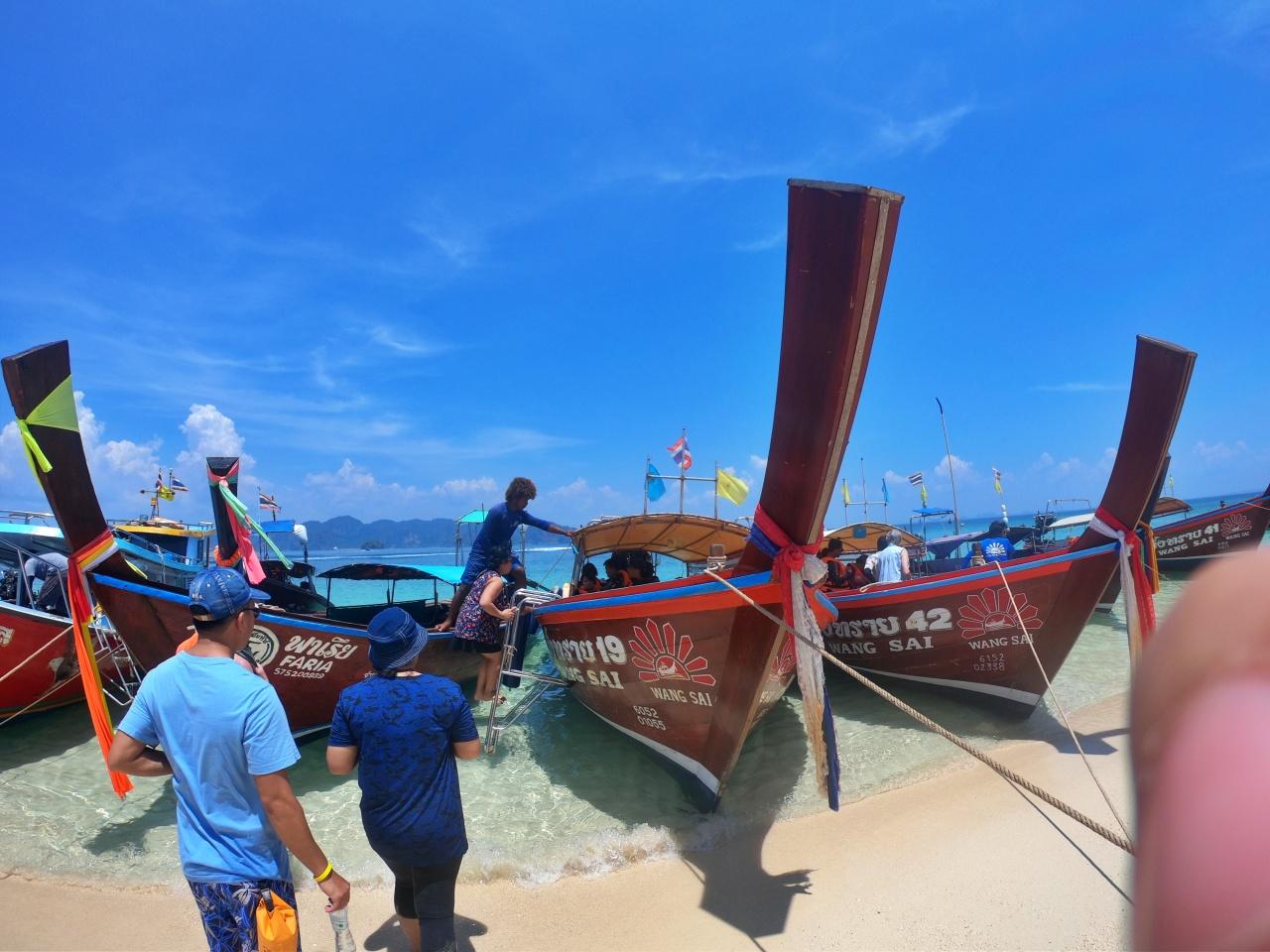 ทัวร์ 4 เกาะ เรือหางยาว